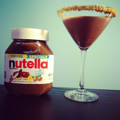 martini de nutella