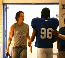 Friday Night Lights filming near Austin, Texas.